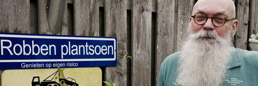 Interview met peperkweker Wil Robben