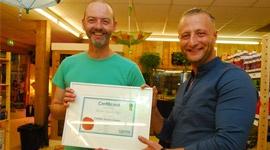 Uitreiking Masterdealer Urban Garden Shop in Terneuzen